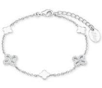 Armband 'Blume' silber