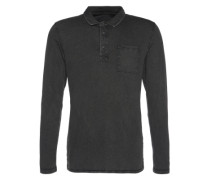Shirt 'po gmd sj ls Polo shirts long sleeve' grau