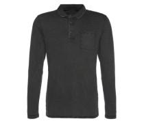 Shirt 'po gmd sj ls Polo shirts long sleeve' dunkelgrau
