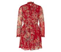 Kleid 'Bianca Bib' rot