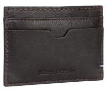 Casual Kreditkartenetui Leder 10 cm braun