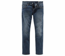 Stretch-Jeans 'Aedan' blue denim
