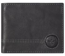Wetland Geldbörse Leder 125 cm schwarz