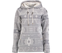 Pullover 'abby Fleece' grau