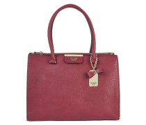 Shopper mit Leder-Optik 'Ryann Society Carryall' rot