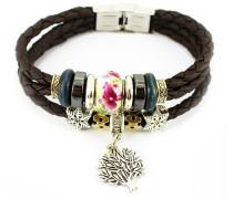 Armband »Lebensbaum« braun