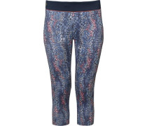 Caprileggings blau