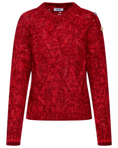 Pullover 'maglia Chiusa Mouline'