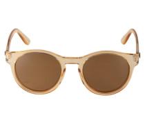Runde Sonnenbrille 'Hey Macarena' hellbraun
