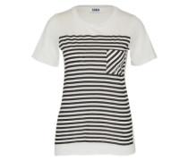 T-Shirt 'MC - Graphic Stripes' schwarz / weiß