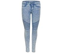 Skinny Fit Jeans Royal reg biker blau