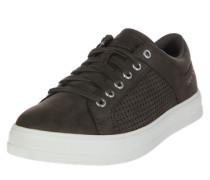 Sneaker Low 'Sidney' dunkelgrau / weiß