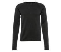 Pullover 'Knit - Malvin' schwarz