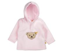 Fleece-Pullover mit Kapuze Jungen / Mädchen Kinder rosa