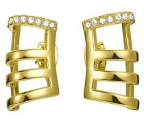 Ohrstecker mit Strassstein »Jp-Stripes Jper00001B000« gold