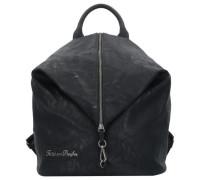 Marit Saddle City Rucksack 35 cm schwarz