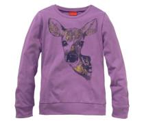 Langarmshirt für Mädchen lila