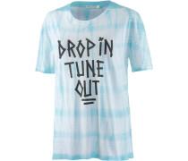 Printshirt Swim blau