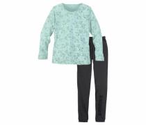 Pyjama mint / schwarz