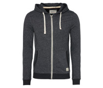 Sweater 'jorrecycle' schwarzmeliert