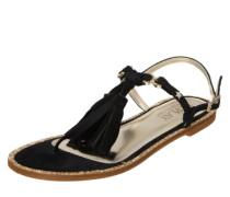 Sandale 'Teres' gold / schwarz