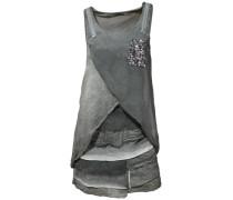 Trägerkleid grau