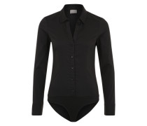 Body-Bluse 'VMLady' schwarz