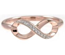Fingerring »Infinity sensitive dancer« rosegold