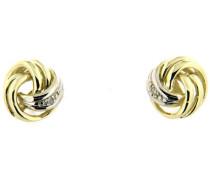 Jewels Ohrstecker mit Brillanten gold