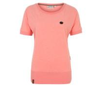 T-Shirt 'Baunxxx wit it' koralle