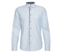 Hemd 'Floyd fil a fil pattern shirt' hellblau