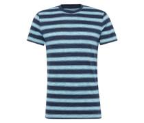 Shirt 'cn mel str ss' hellblau / dunkelblau