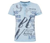 T-Shirt dunkelblau / hellblau