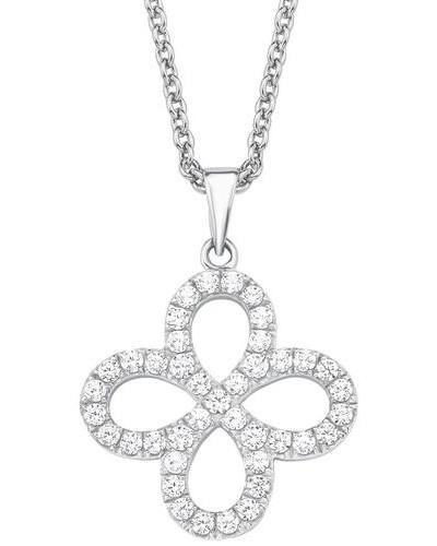 Silberkette 'Blume/Blüte' silber