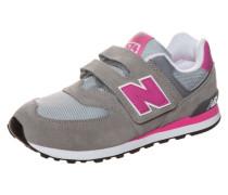 Kv574-Cdy-M Sneaker Kinder grau