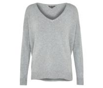 Shirt 'core V Neck' graumeliert