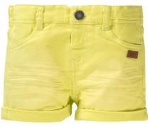 Shorts für Mädchen gelb