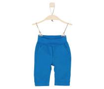 Hose mit Umschlagbund royalblau