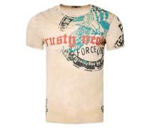 T-Shirt mit zeitlosem Print