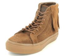 Sneaker SK8-Hi Moc Leder beige / braun