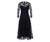 Kleid 'Embroidered' Midi Dress navy