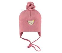 Fleece-Mütze pink
