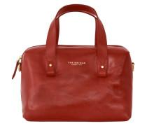 Sfoderata Luxe Donna Henkeltasche Leder 32 cm rot
