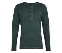 Shirt 'mls Pepper button' dunkelgrün