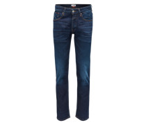 Slim-fit-Jeans 'Original Straight Ryan' blue denim