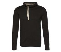 Feinstrick-Sweater schwarz