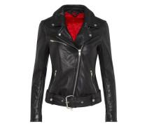 'Colton Patched' Lederjacke schwarz