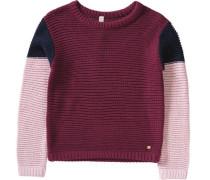 Pullover für Mädchen rosa / rot