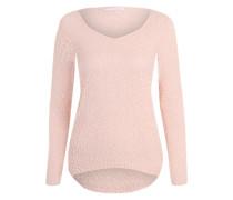 Strickpullover 'ONLPopcorn' pink