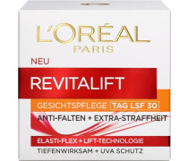 'RevitaLift Lotion Tag Lsf30' Gesichtspflege rot / weiß